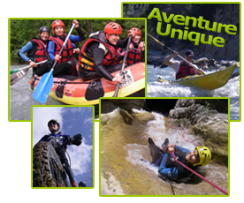 week  end ascension- canyon canoe rafting vtt kayak de mer